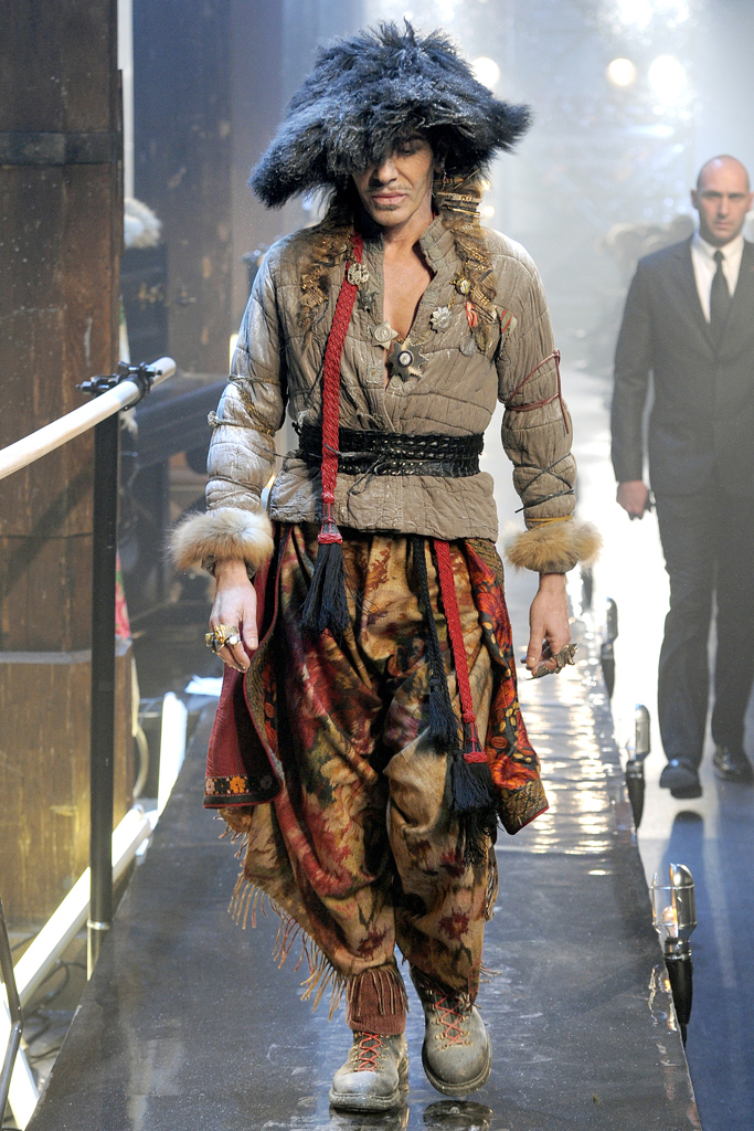 Забытая коллекция John Galliano Fall-Winter 2011-2012