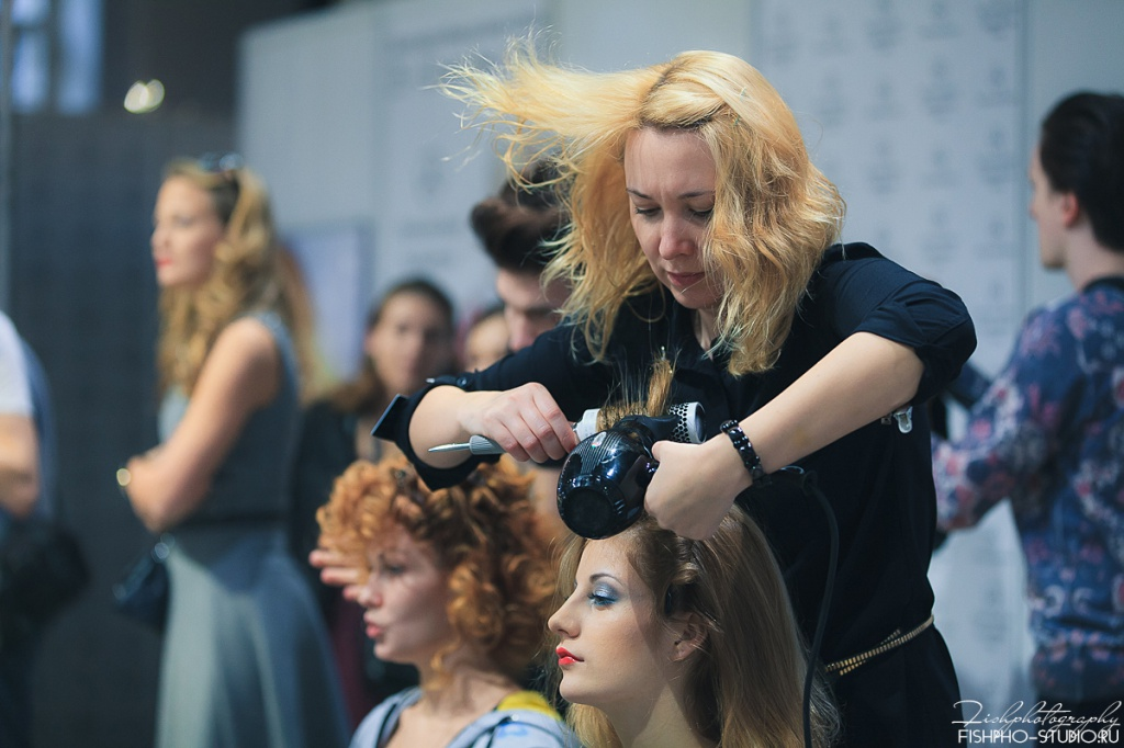 Backstage Mercedes-Benz Fashion Week Russia