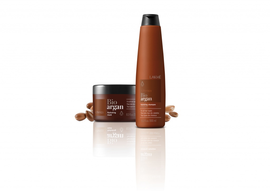 LAKME. Bio Argan Hydrating Shampoo and Mask